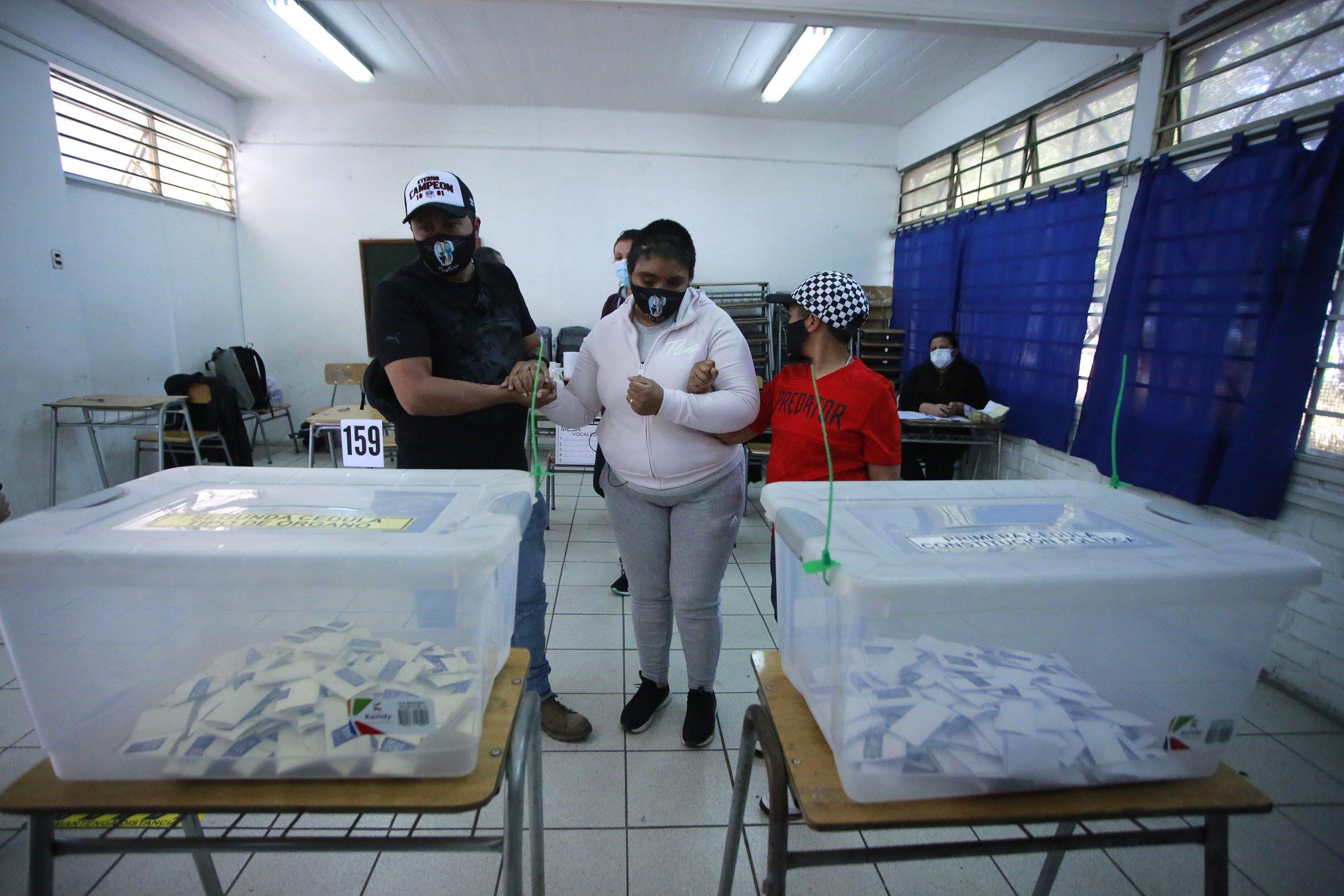 Fabiola Campillai llamó a votar desde La Pintana