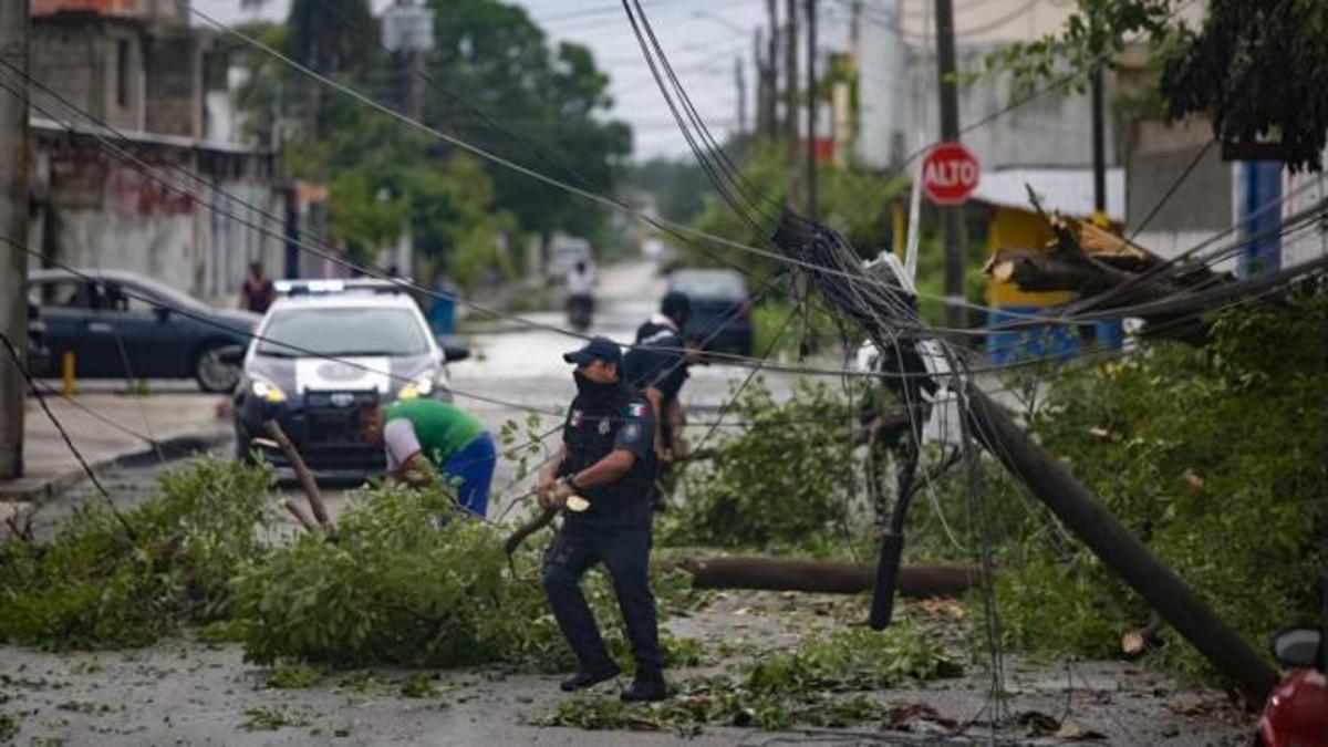 México confirma que el huracán Delta no dejó víctimas mortales a su paso por el país