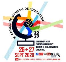Convocatoria al I Congreso Mundial en defensa de la educación pública y  contra el neoliberalismo educativo