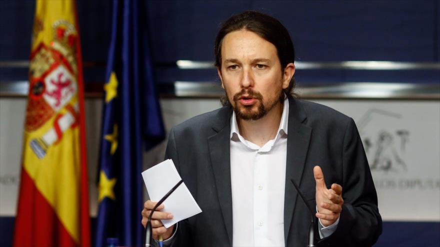 imputar a Iglesias españa gobierno coalición