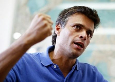 Leopoldo López abandonó la embajada española en Caracas y salió de Venezuela