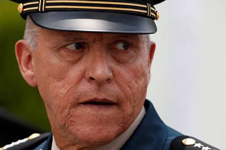 Niegan libertad bajo fianza al exsecretario de la Defensa Nacional de México, Salvador Cienfuegos