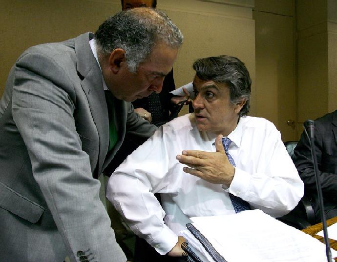 Foto: Pablo Galilea con Longueira, ex subsecretario de pesca , actual Jefe de la División de Gobierno Interior, infogate (1)