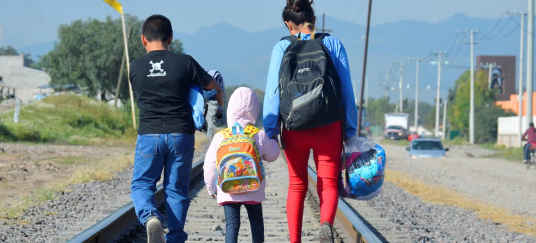 EE.UU. expulsó ilegalmente a México a 200 niños migrantes centroamericanos