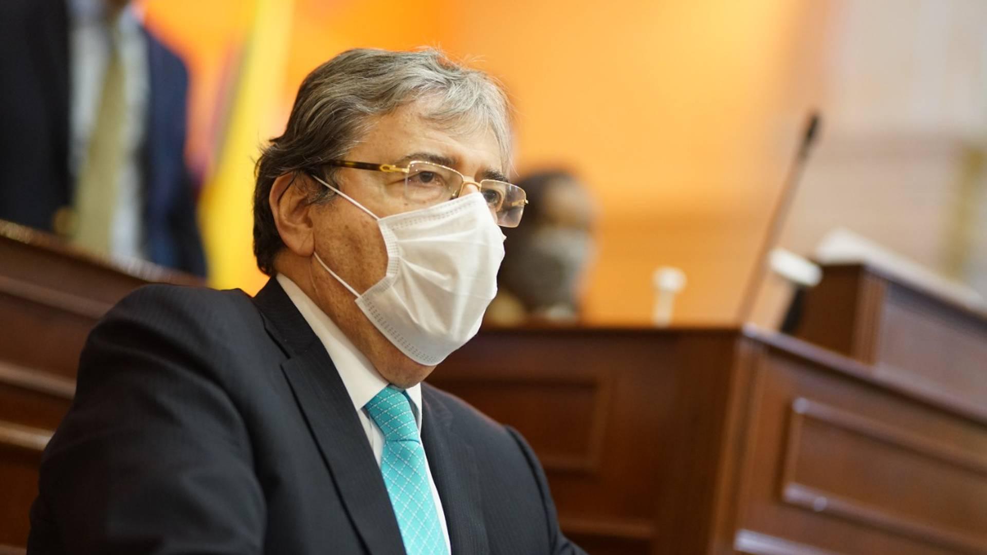 ministro de defensa colombia niños