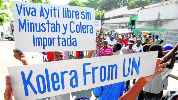 Organizaciones de Haití exigen a la ONU justicia e indemnización para víctimas del cólera