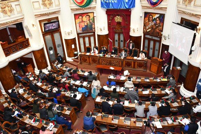 parlamento boliviano juicio áñez