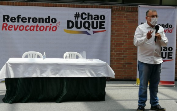 Colombia: inscriben comité promotor de referendo revocatorio contra Duque