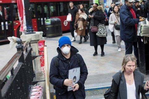 Reino Unido superó el medio millón de contagios por Covid-19