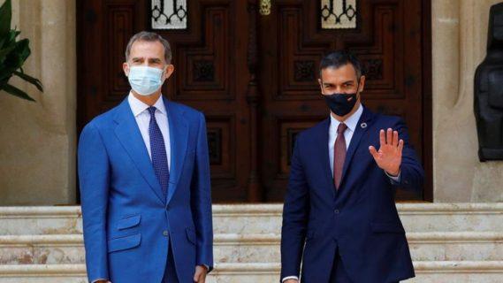 El presidente interino de Cataluña rechaza asistir a un acto con el Rey en Barcelona