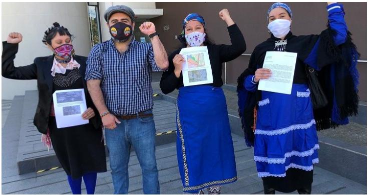 Comunidad indígena de Temuco denuncia que construcción de condominio amenaza con destruir un importante humedal