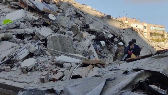 Terremoto de magnitud 6,9 en el mar Egeo deja al menos 17 muertos y más de 700 heridos en Turquía