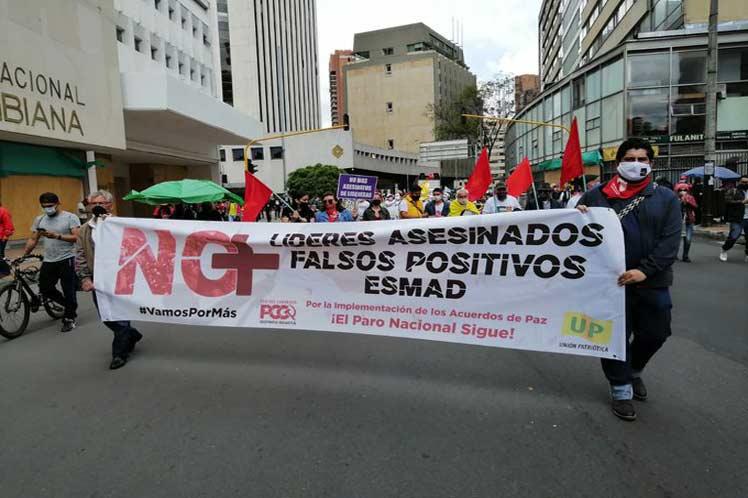 trabajadores colombia protesta duque