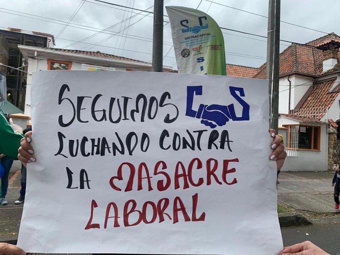 trabajadores duque protestas