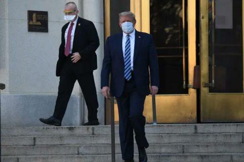 Trump continuará tratamiento en la Casa Blanca tras ser dado de alta