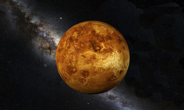 La NASA revela en una imagen cómo se ven las erupciones volcánicas en Venus