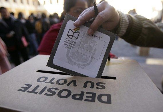 voto en el exterior bolivia gobierno de facto