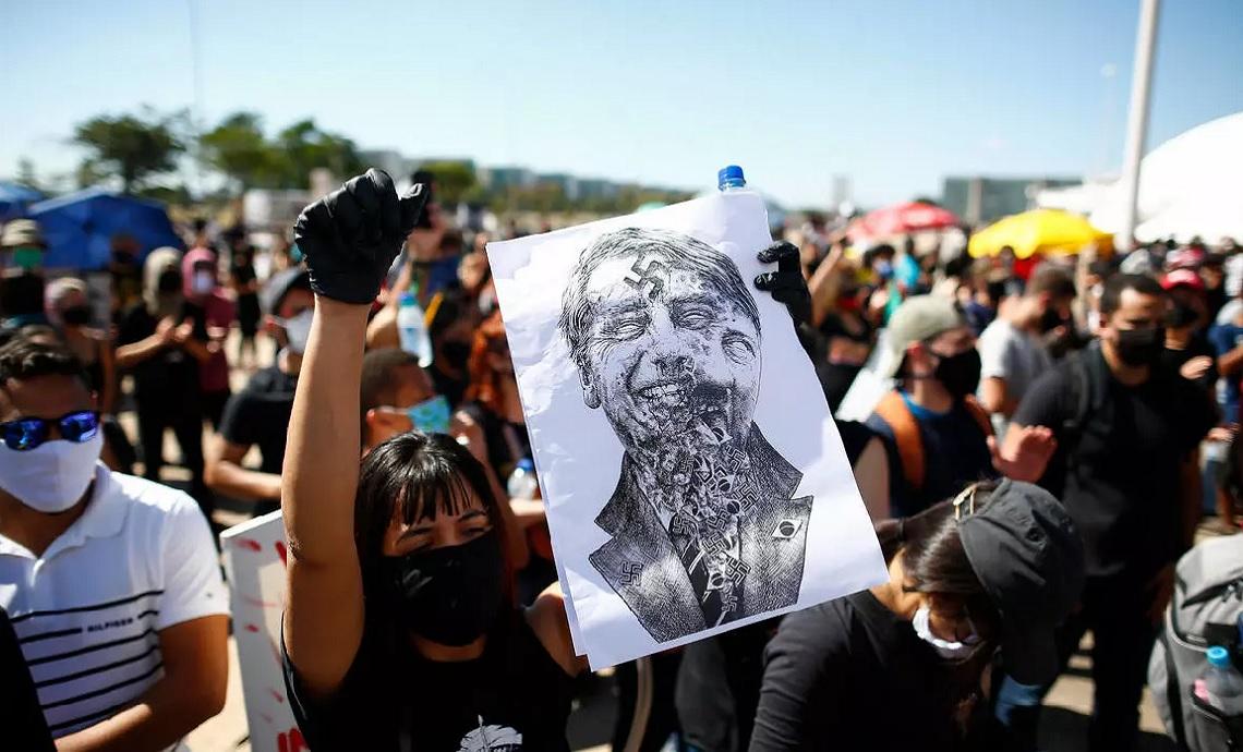 Organizaciones sociales convocan nueva protesta para exigir la renuncia de Bolsonaro