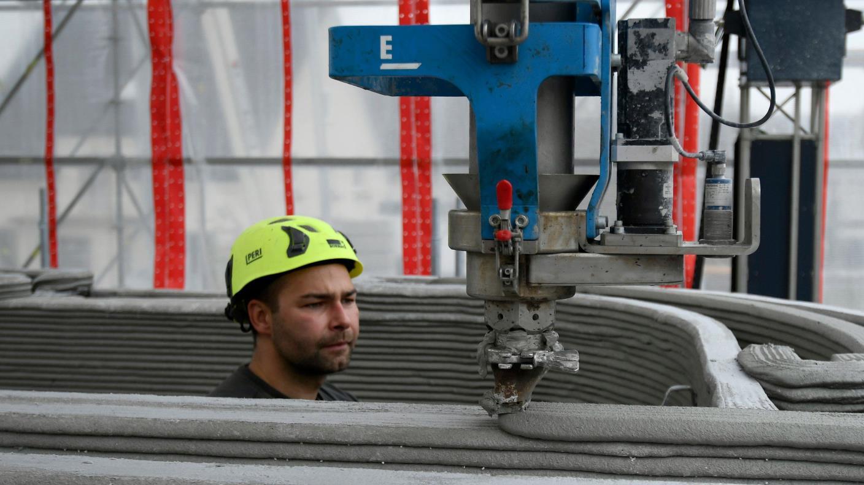 Alemania construye un edificio de tres pisos con una impresora 3D (+Fotos)
