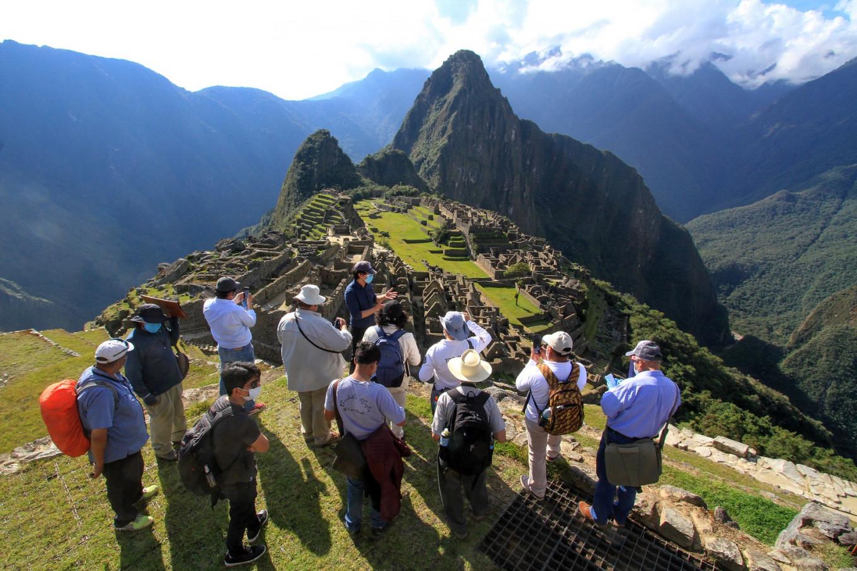 Machu Picchu reabrió sus puertas luego siete meses de clausura por la pandemia