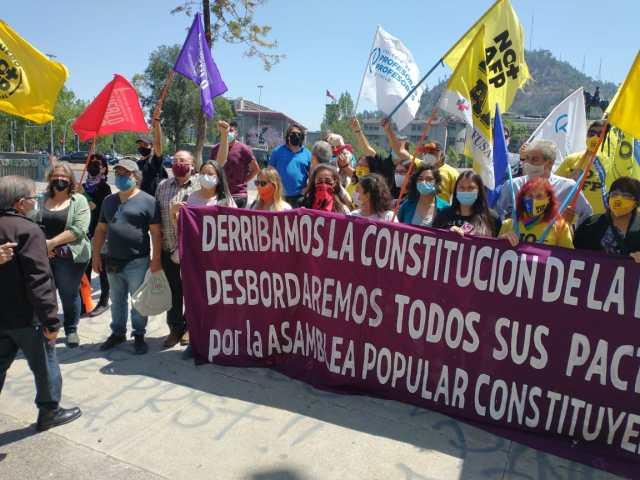 Organizaciones sociales llaman a levantar la Asamblea Popular Constituyente por todo Chile