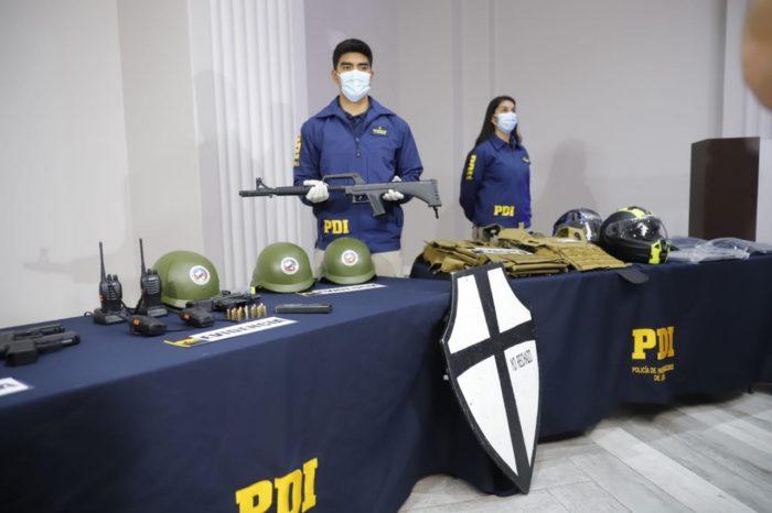 Incautan armas, cascos y chalecos antibalas de las viviendas de responsables por amenazas a fiscal Chong