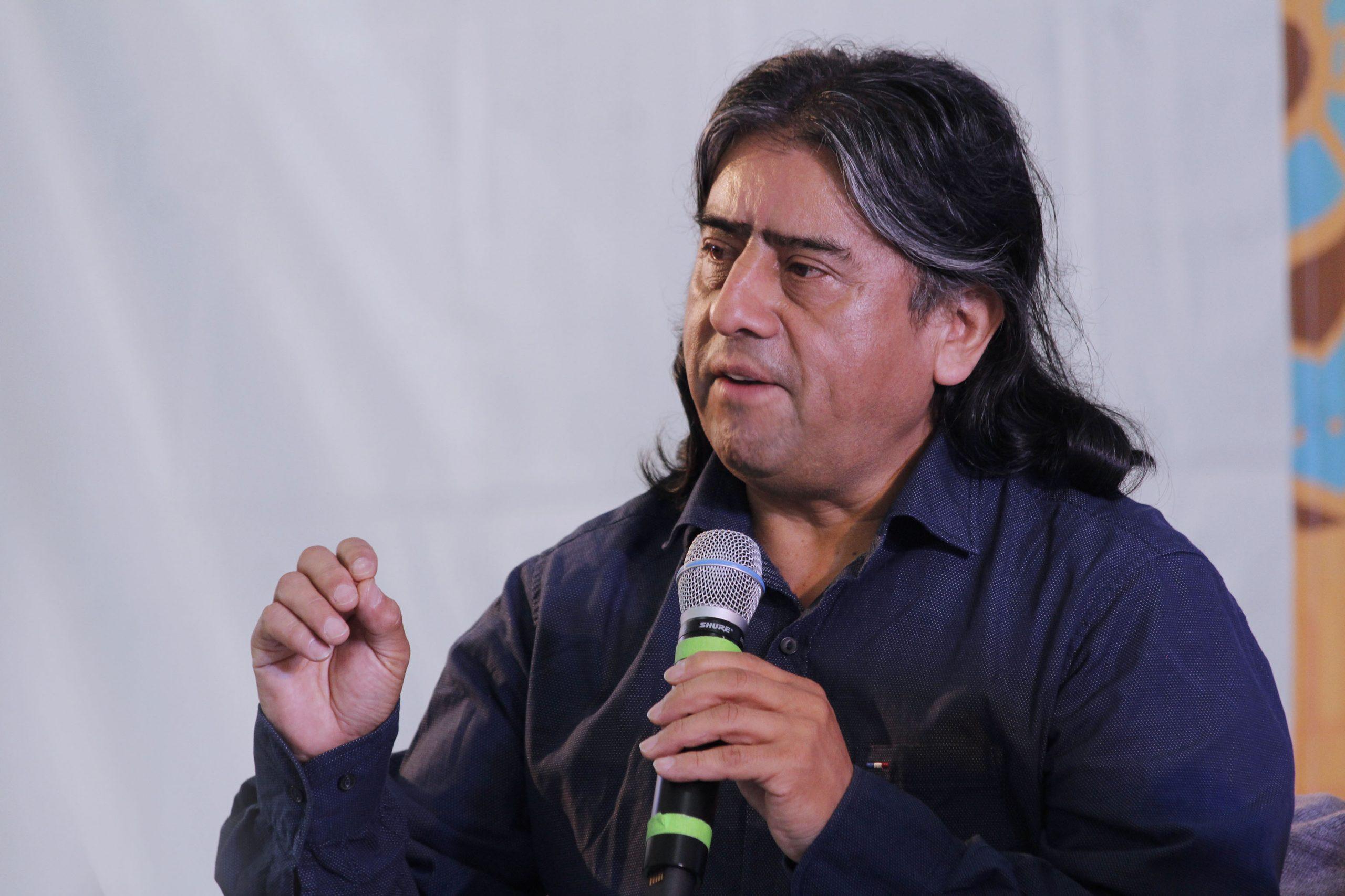 Aucán Huilcamán rechaza llamado a militarizar La Araucanía por parte de parlamentarios RN