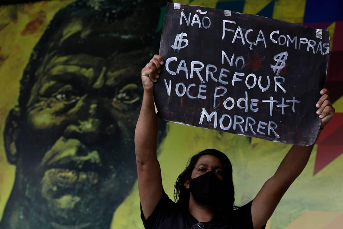 Ola de protestas en Brasil por brutal asesinato de un hombre negro en un supermercado