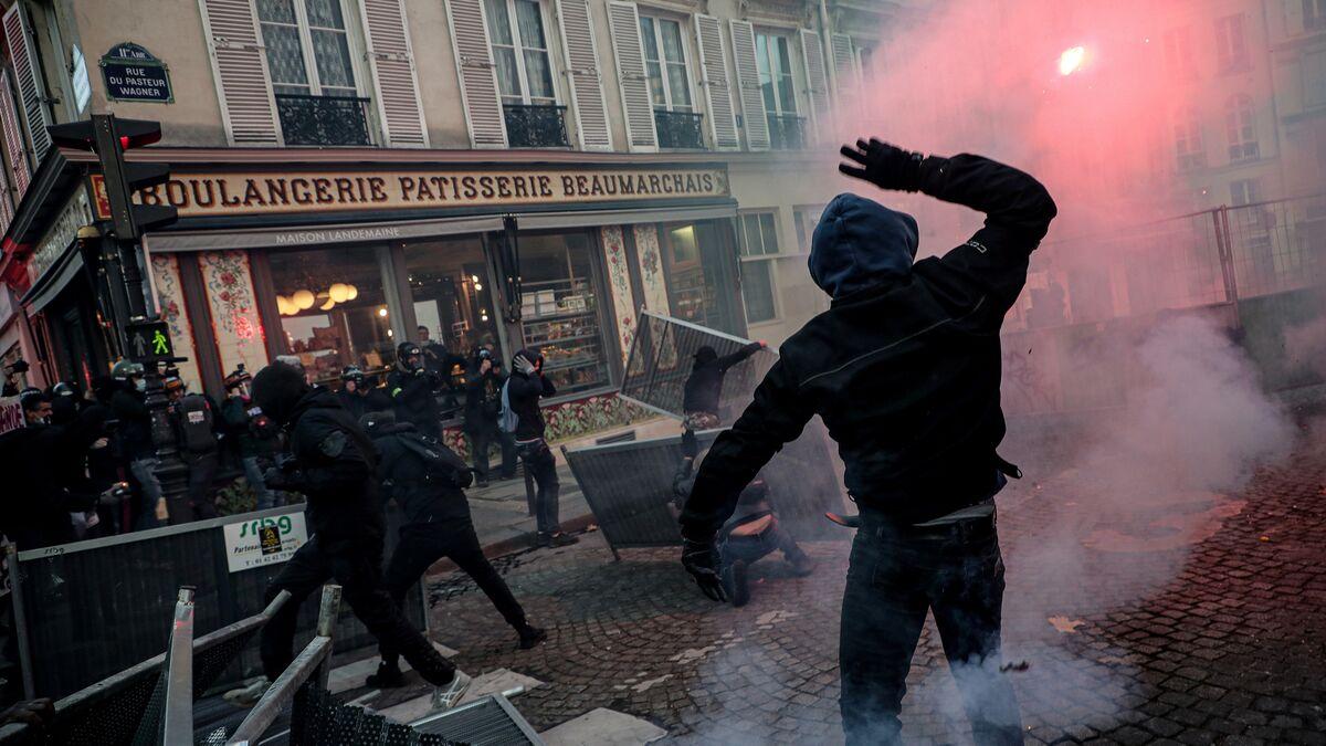 """""""Marcha de las libertades"""" en París arrojó saldo de 81 detenidos"""