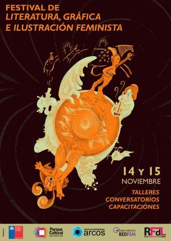 Realizan Primer Festival de Literatura, Gráfica e Ilustración Feminista de Valparaíso