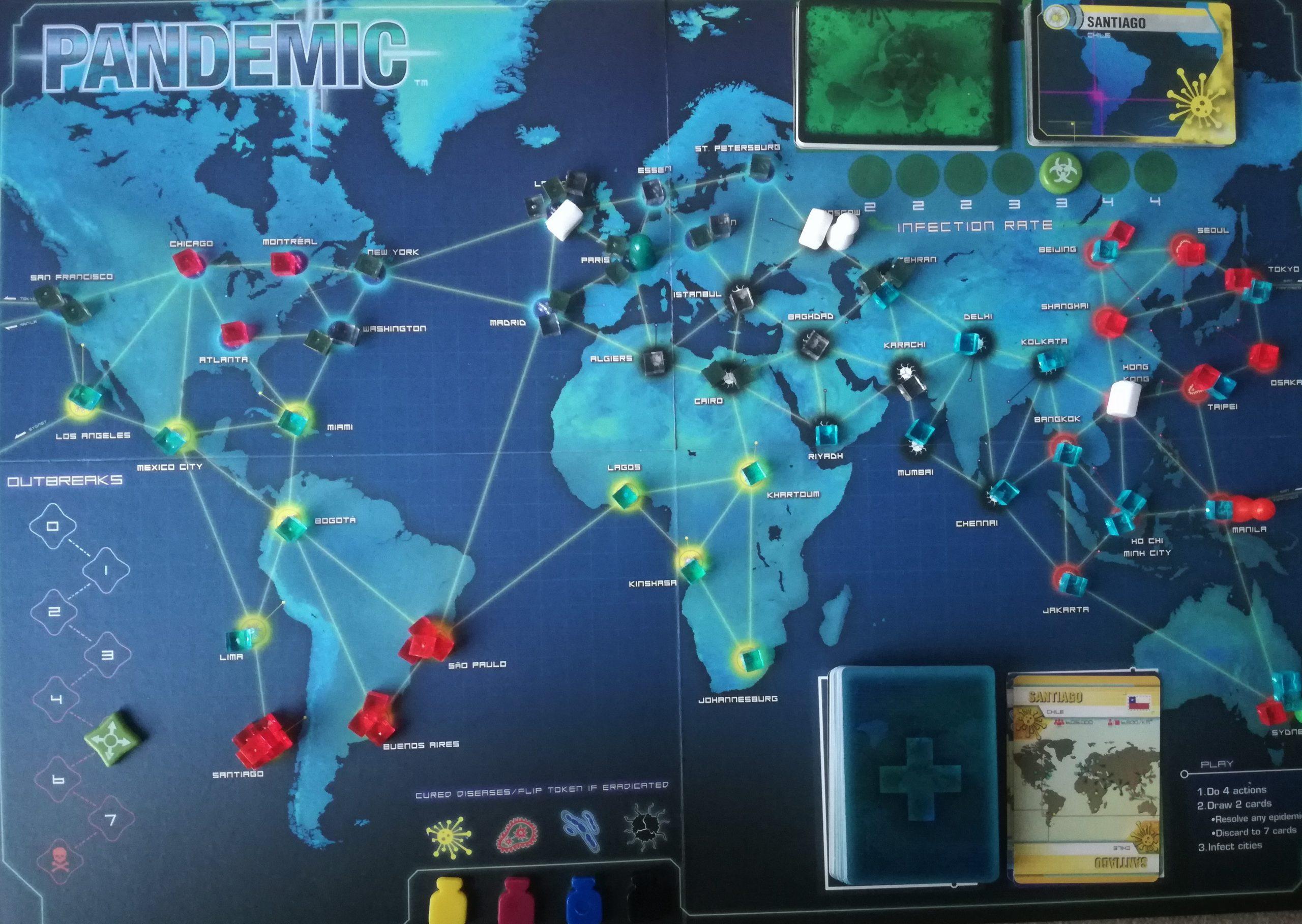 """Solidaridad, cooperación y esperanza para ganar la partida mundial de """"Pandemia"""""""