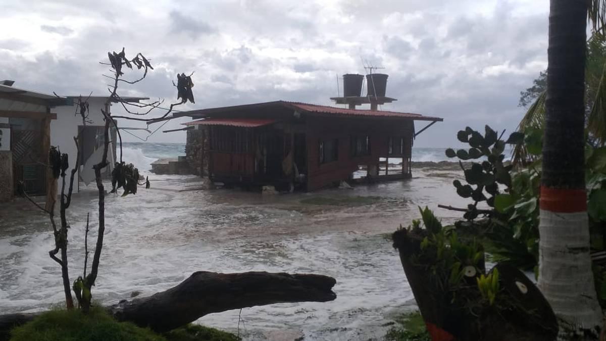 """En Colombia declaran calamidad pública en isla de San Andrés por paso de """"Eta"""""""