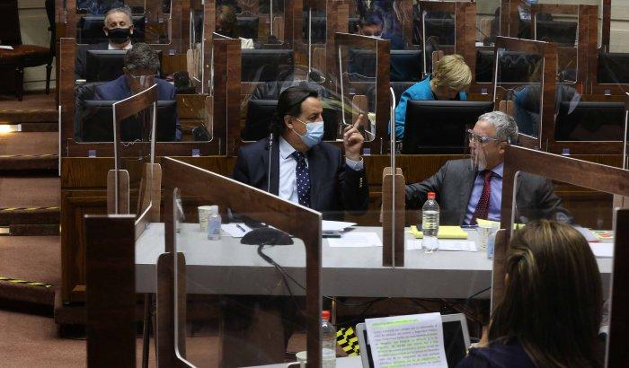Senado rechazó acusación constitucional contra el ex Ministro del Interior Víctor Pérez