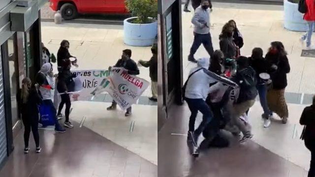 Viña del Mar: Trabajadora de CMR sufre aborto tras agresión de cliente durante manifestación