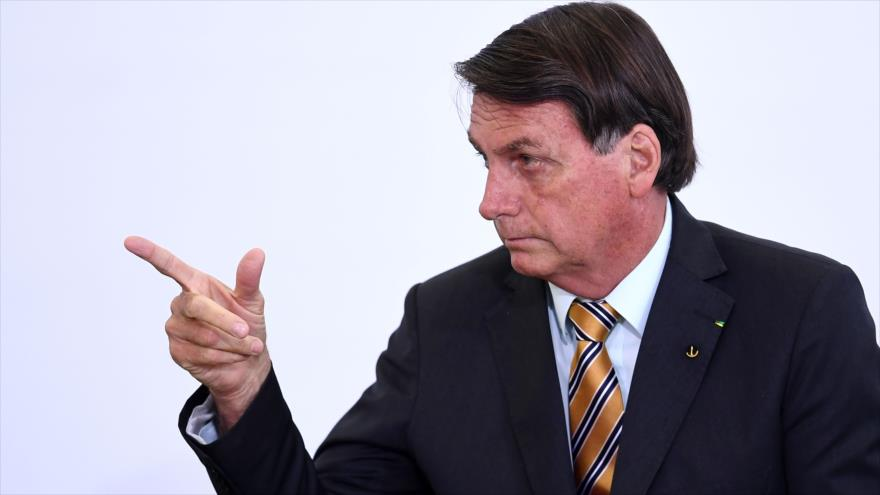 """""""Esa tontería de la segunda ola"""": Bolsonaro minimiza riesgo de enfrentar nuevo brote de COVID-19"""