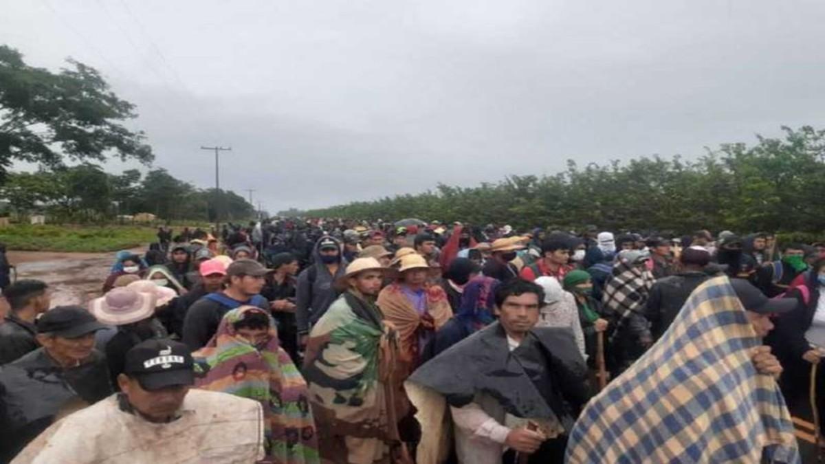 Campesinos paraguayos inician cierres de calles en Asunción por reclamos económicos