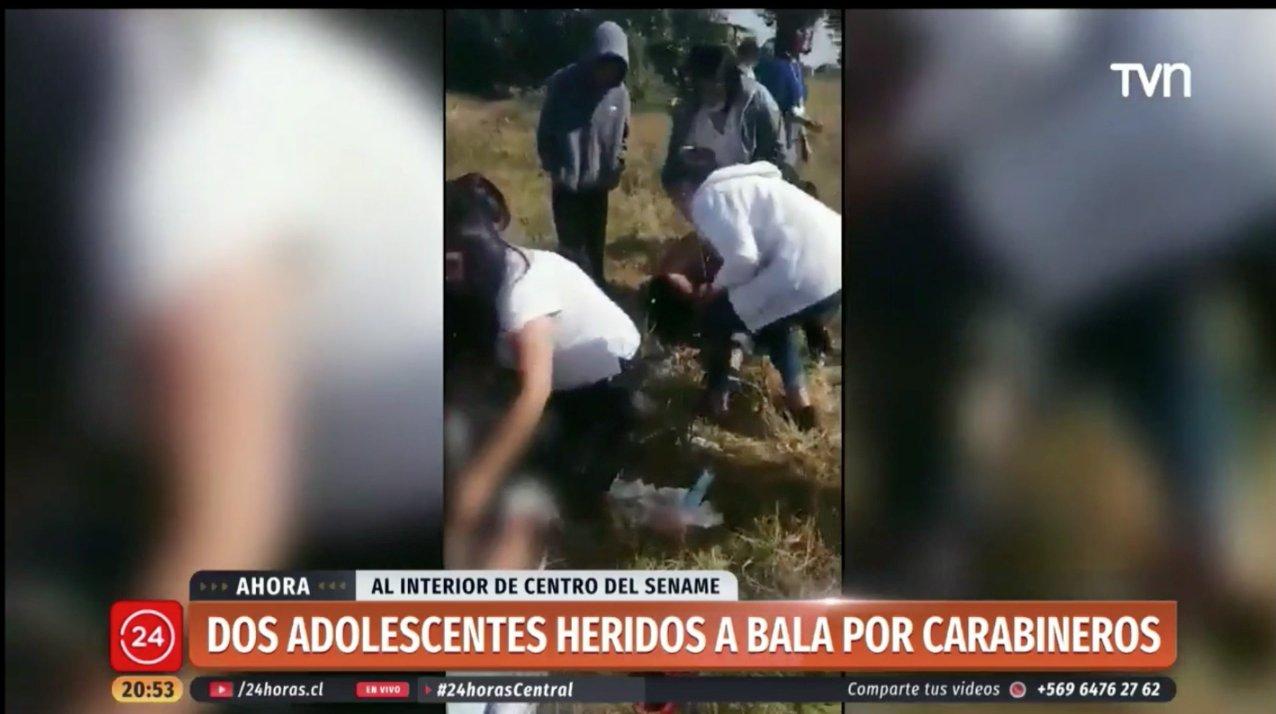 """Unicef condenó accionar de carabineros contra menores en Talcahuano: """"Tienen la obligación de aplicar protocolos especiales"""""""