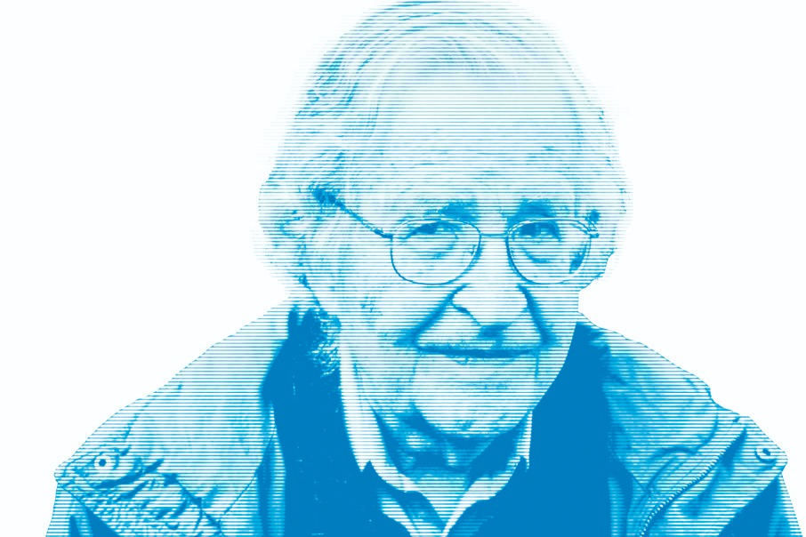 Resultado de imagen de Noam Chomsky calentamiento global