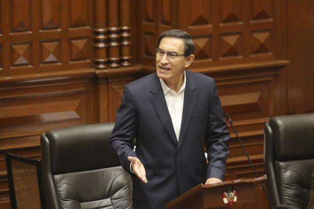 Vizcarra felicita a Sagasti y solicita al Constitucional revisar su vacancia