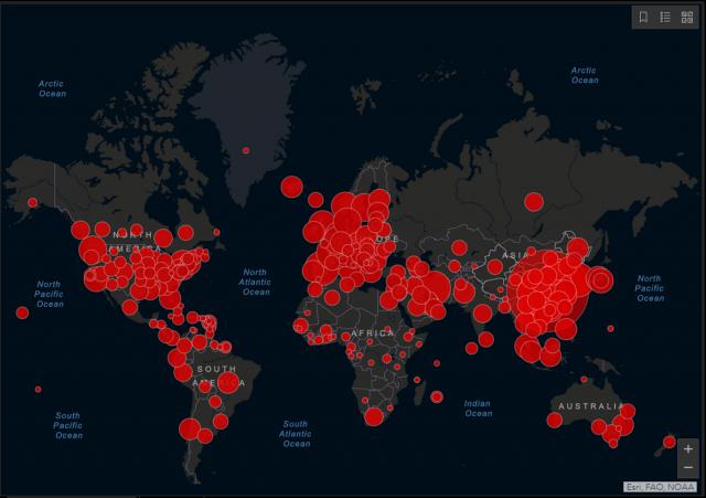 La pandemia del Covid-19 superó los 46 millones de contagios en el mundo