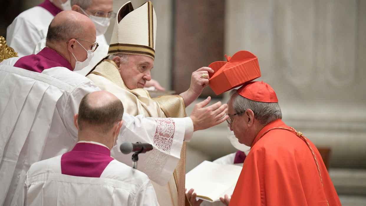 Papa Francisco nombró 13 nuevos cardenales y los exhortó a combatir la corrupción