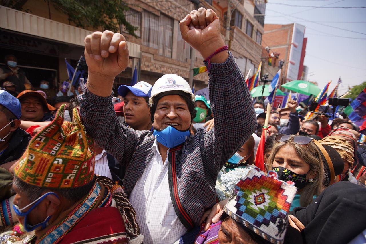evo morales bolivia regreso