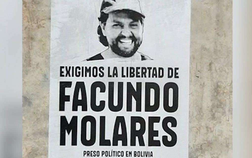 Argentina y Bolivia en conversaciones para liberar a Facundo Molares