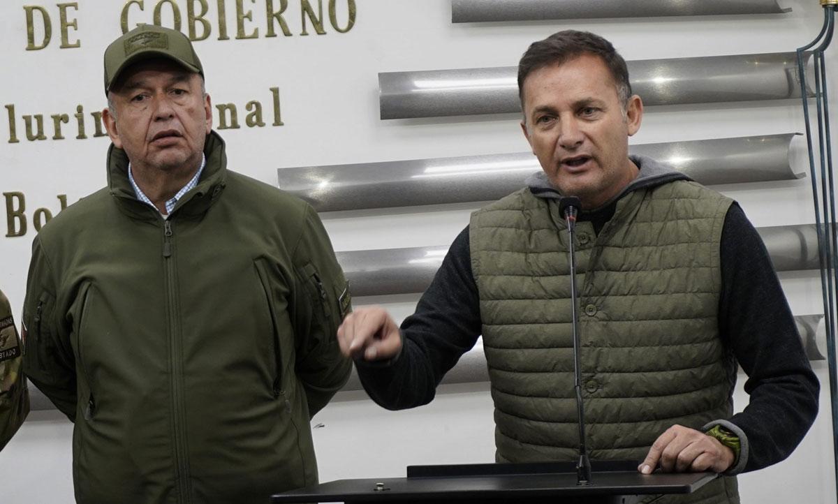 fuga exministros bolivia
