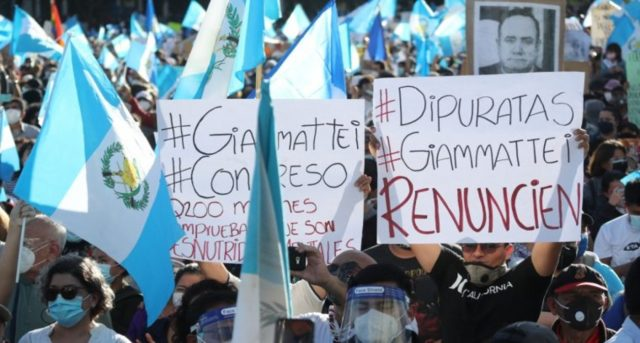 El Congreso de Guatemala suspende la aprobación de los presupuestos que originaron las protestas