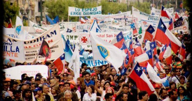 Huelgas laborales, estallido social y el proceso constituyente