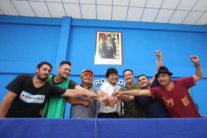 indígenas sindicato encuentro