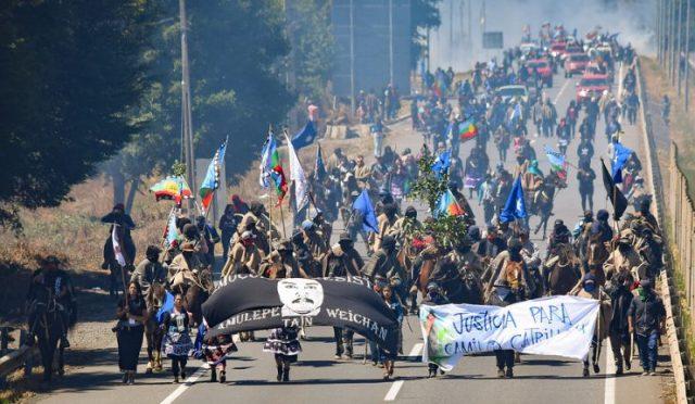 Comunidades mapuche marcharon para exigir justicia a dos años del asesinato de Camilo Catrillanca