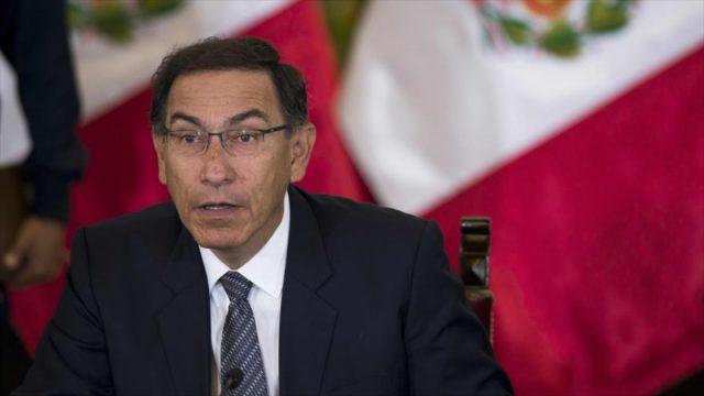 Perú: Congreso rechaza solicitud de Vizcarra de adelantar fecha para debatir el pedido de su destitución