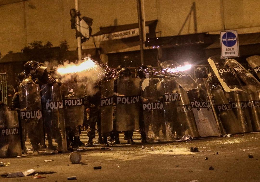 """ONU manifiesta """"profunda preocupación"""" por represión en protestas en Perú"""